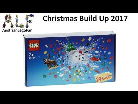 Vidéo LEGO Saisonnier 40253 : Christmas Build-Up