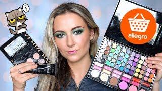 Cały Makijaż Najtańszymi Kosmetykami Z Allegro 💵👛Hit Czy Kit? Test Trwałości 8h ⏱️⌛