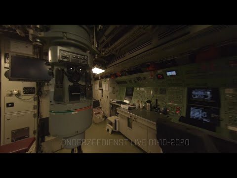 Flying a Drone Inside a Submarine is Insane