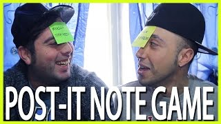 POST-IT NOTE GAME - hmatt
