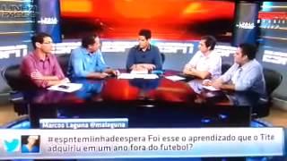 Comentaristas Da ESPN Ironizam Atitude De Renato Maurício Prado