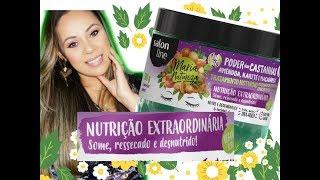 Maria Natureza Poder Das Castanhas- 100% Vegana Liberada