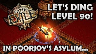 Path of Exile: Poorjoys to Level 90 on my Tornado Shot Ranger [Stream HIghlight]