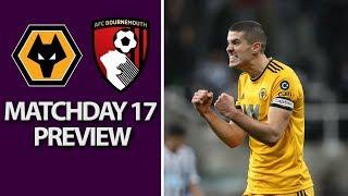Wolves v. Bournemouth | PREMIER LEAGUE MATCH PREVIEW | 12/15/18 | NBC Sports | Kholo.pk