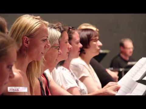 """VIDEO: Valsts Akadēmiskais koris """"Latvija"""" uzstājas Lucernā"""
