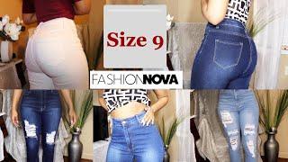 Fashion Nova jeans size 9 Review/try on haul  + Jackets 2021