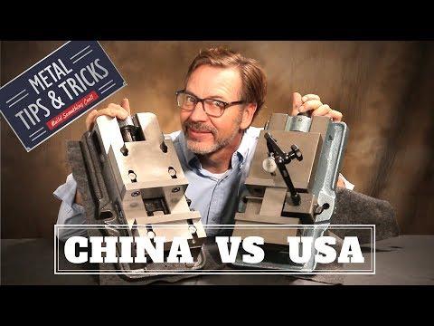 China Vs USA  Machinist Vise