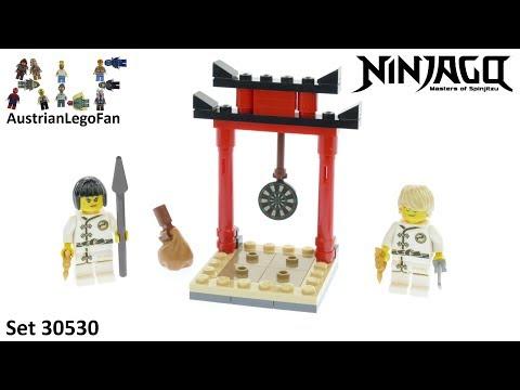 Vidéo LEGO Ninjago 30530 : L'entraînement sur cibles du WU-CRU (Polybag)