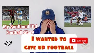 My Football trials – my southend united fc soccer trial – why i nearly gave up football