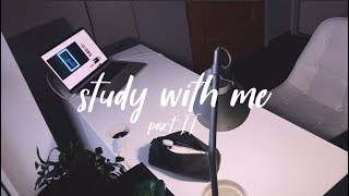 REAL TIME STUDY WITH ME | pomodoro technique part 2 with lofi music
