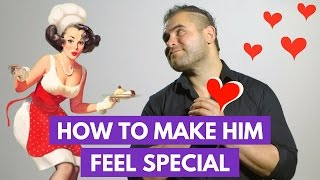 10 Ways to Make Your Guy Feel Special   James M Sama
