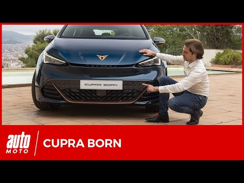 Cupra Born : découverte de la compacte électrique
