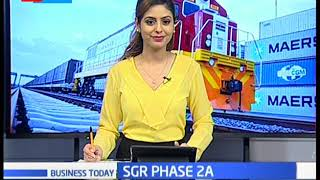 President Kenyatta launches the second phase of SGR in Ngong station