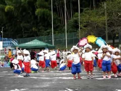 2012年の港南幼稚園うんどうかい - 3-4歳のパフォーマンス