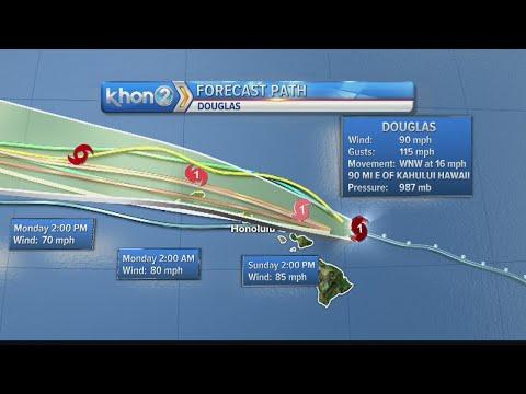 Honolulu Mayor discusses latest updates as Hawaii braces for Hurricane Douglas