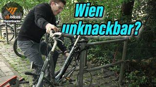 Die Überraschung? Kohlburg Wien Faltschloss knackbar? - vit:bikes Panzerknacker