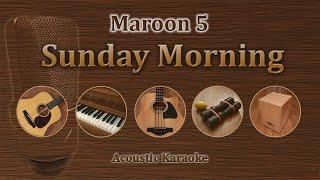 Sunday Morning - Maroon 5 (Acoustic Karaoke)