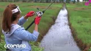 Рыбалка на рассвете во вьетнаме