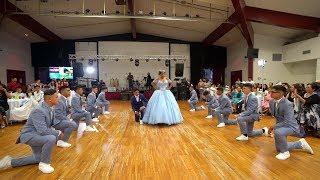 Quinceanera Megan Lopez Waltz and Surprise Dance