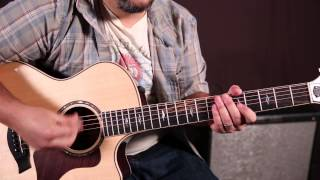 """How to Play """"Sing"""" by Ed Sheeran - Acoustic Guitar Lessons - Rhythm"""