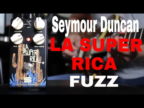 Seymour Duncan LA Super Rica Fuzz Quick Listen Demo Video by Shawn Tubbs