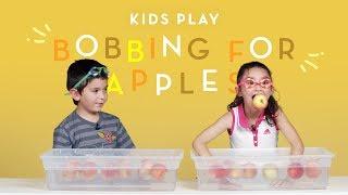 Kids Play Bobbing for Apples   Kids Play   HiHo Kids