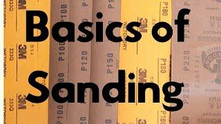 Basics Of Sanding  How To Sand Wood