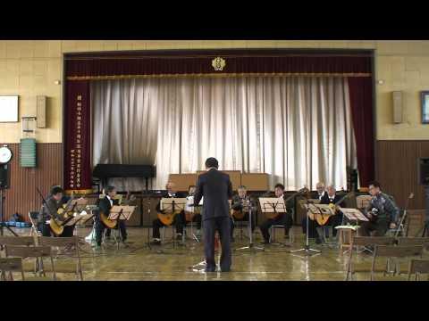 栃の木ギター合奏団(特別演奏会栃木市第4小学校)リハーサルパート3