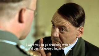 Hitler wants Himmler to go shopping with Eva
