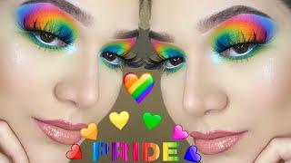 RAINBOW PRIDE MAKEUP / ojos arcoíris 🌈