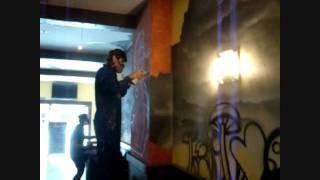 Graffiti La Reina de Corazones