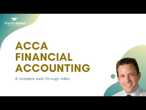 All you need to know about ACCA FA exam | ACCA Financial ...