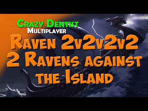 Northgard Raven clan in 2v2v2v2 | 2 Ravens against the Island