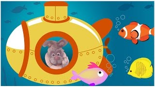 Yellow Submarine | Nursery Rhymes For Children & Kids Songs With Buddy Rabbit
