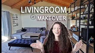 INDUSTRIAL STYLE LIVING ROOM MAKEOVER