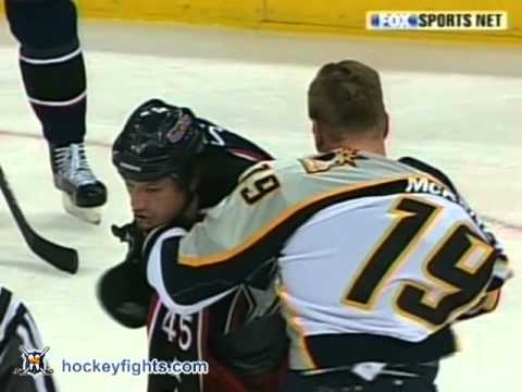 Jody Shelley vs. Jim McKenzie