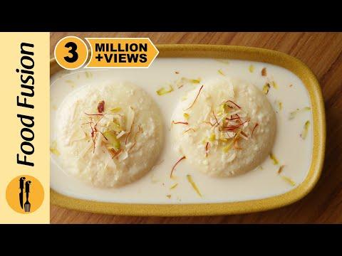 Rasmalai recipe with milk powder By Food Fusion