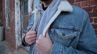 Best Denim Jacket On The Market! Levis Trucker Sherpa Jacket