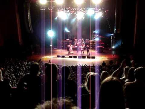 Einde van het concert