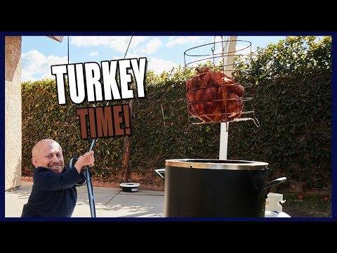 How to Cook a Turkey Father Son Bonding Experience