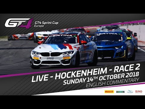 Race 2 - Hockenheim -  GT4 Sprint Cup Europe 2018