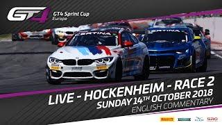 GT4_European - Hockenheim2018 Sprint Cup Race 2 Full