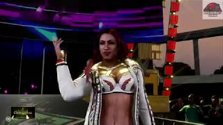 WWE 2K19 - Sasha Banks vs Lita - Crown Jewel PPV Raw Women's United States Championship Match !!!!!