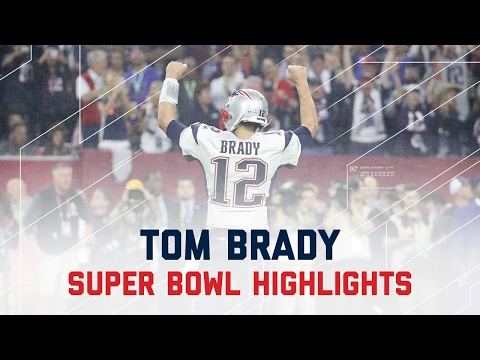 Tom Brady's Amazing Super Bowl LI Comeback   Patriots vs. Falcons   Super Bowl Player Highlights