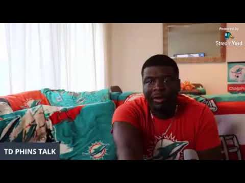 TD PHINS TALK Miami Dolphins vs Washington Redskins. Battle of the winless!