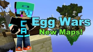 Minecraft / Egg Wars / New Solo Maps / Gamer Chad Plays