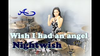 Nightwish - Wish I had an angel drum cover by Ami Kim (46th)