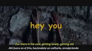 PINK FLOYD  -  HEY YOU   Subtítulos Español & Inglés
