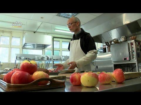 Croustades monastiques pour l'hiver et pommes au cassis
