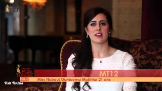 Oumayma Mokhtar Miss Tunisie 2015 contestant introduction